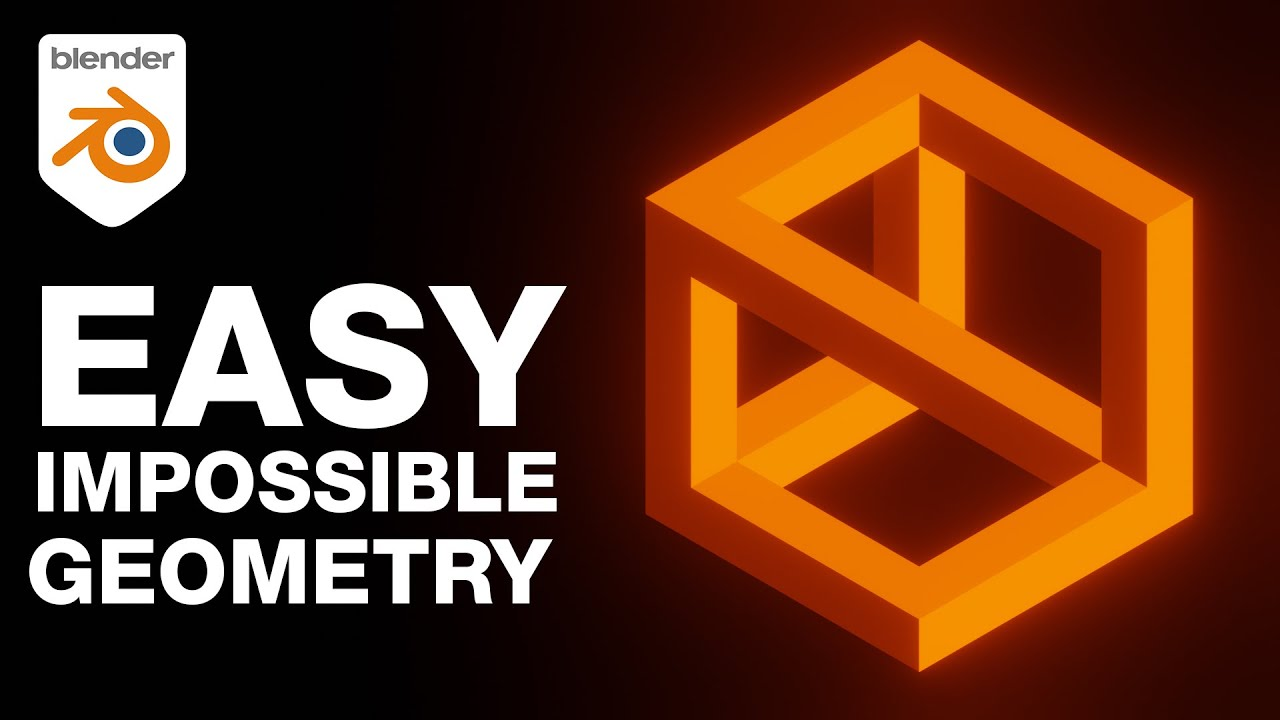 Impossible Geometry Has Never Been This Easy (Blender Addon Tutorial)