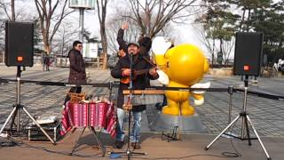 남산공원 안데스음악 거리공연
