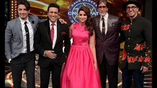 Kill Dil Promotions On KBC – Ranveer, Parineeti & Govinda