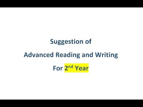 Suggestion Of Advance Reading And Writing - 2019 | বাংলা লেকচার | Bengali Lecture