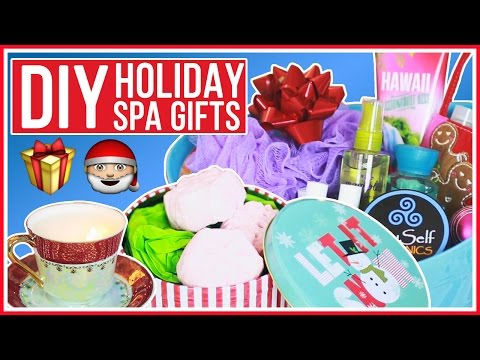 3 DIY Holiday Gifts - Bath Bombs, Tea Cup Candles and Spa Kit