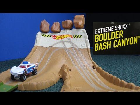 Boulder Bash Canyon Extreme Shoxx From Hot Wheels