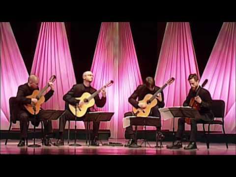 Georgia Guitar Quartet: Puck by Edvard Grieg (Live)