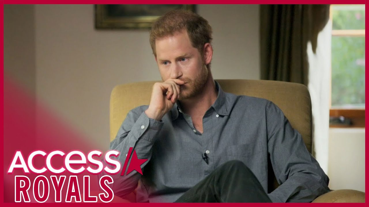 Prince Harry's Shocking Mental Health Struggles Revealed In 'The Me You Can't See'