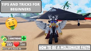 All tips and tricks for beginners!! 🤑 -Roblox Mad City beginner guide!! 😲
