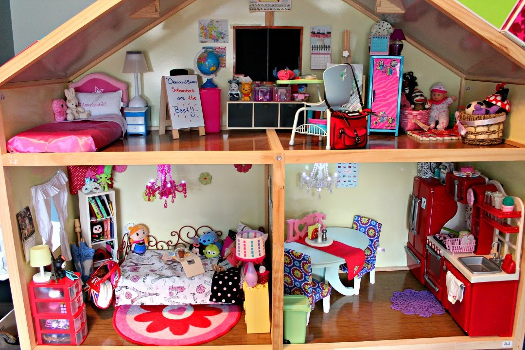 Huge American Girl Doll House Tour Updated 2015 Youtube