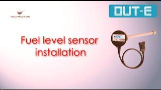 ДУТ-е 485 датчик рівня палива установки