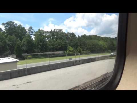 MARTA Red Line: Lindbergh Center to North Springs (07-08-17)