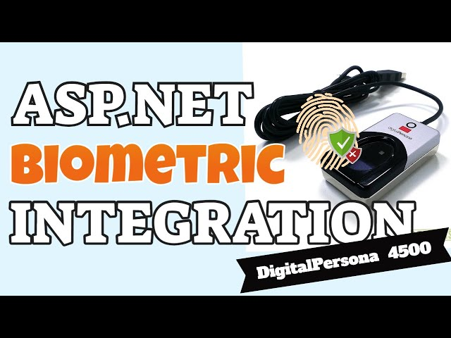 ASPNET Web Biometric Authentication - Jomutech Systems