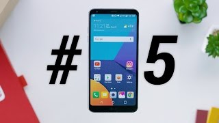 Top 5 LG G6 Features! thumbnail