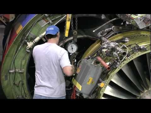 Southwest Airlines: 737 Engine Swap