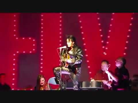 Chris Connor Elvis one night with you at the London Palladium