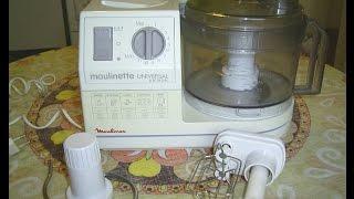 Funktionsprüfung Moulinex   electronic, 400 Watt Küchenmaschine ,Food processor Typ 889