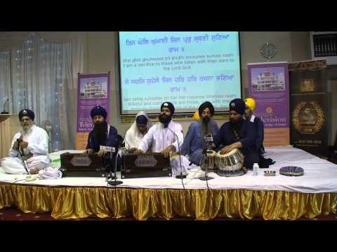 Bhai Nirmaljot Singh California - Derby Smagam 2014 Sunday Rhensabhi