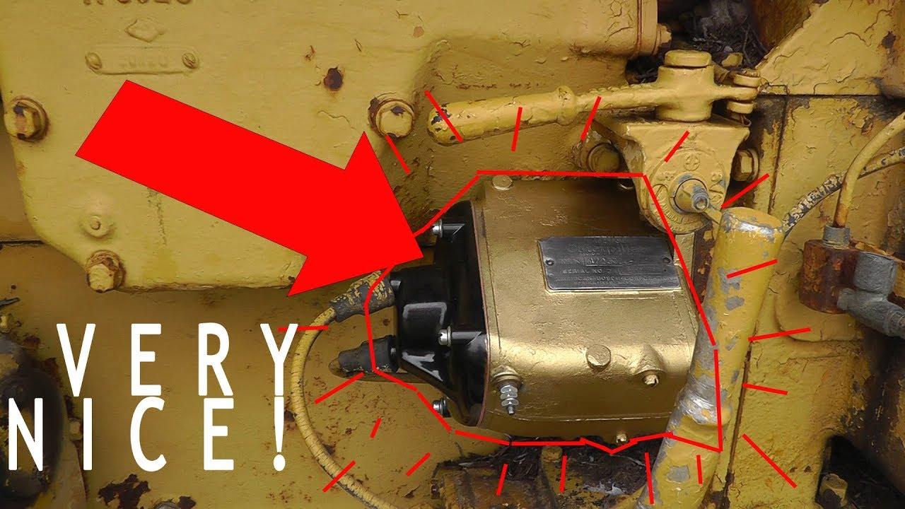 Caterpillar Wiring Diagram New Magneto For Cat D6 Pony Motor Youtube