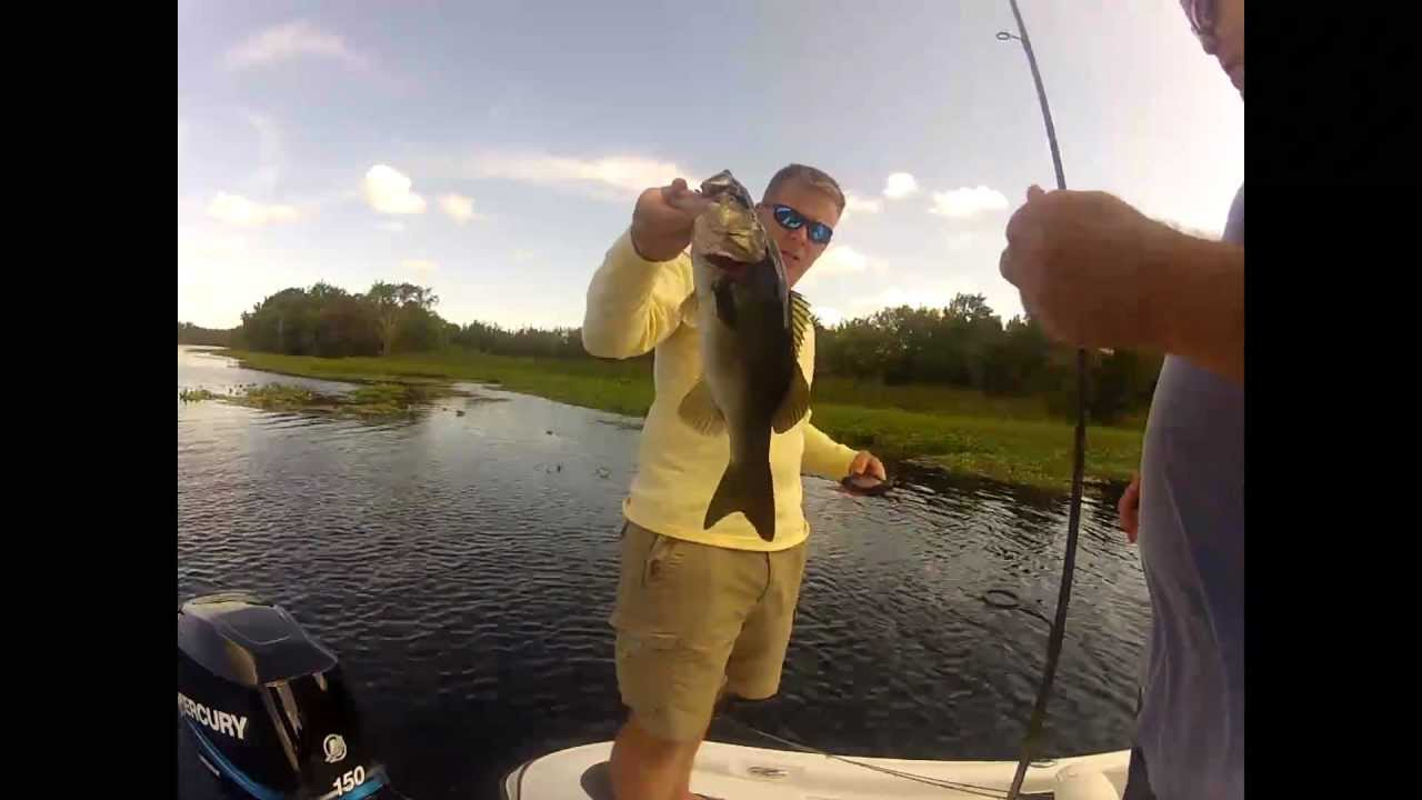 Lake george florida bass fishing youtube for Best bass fishing in florida