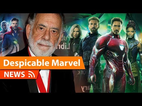 Marvel Movies Are Despicable says Francis Ford Coppola
