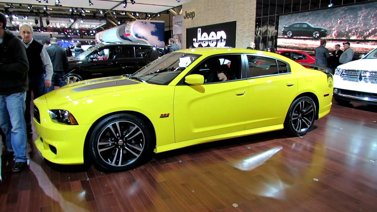 2012 Dodge Charger Srt8 Hemi 392 Super Bee Exterior And