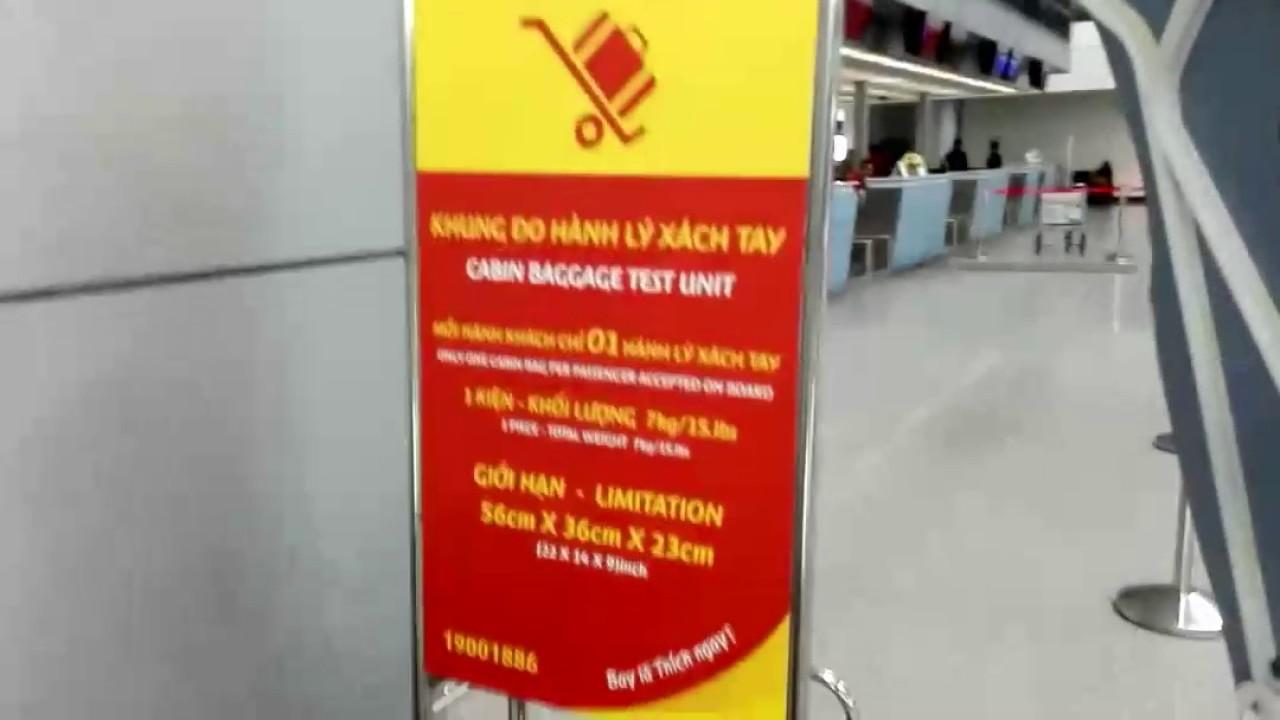 July 2017 Vietjet Air Check in @ SGNTansonnhat International Airport ( Ho Chi Minh Vietnam )