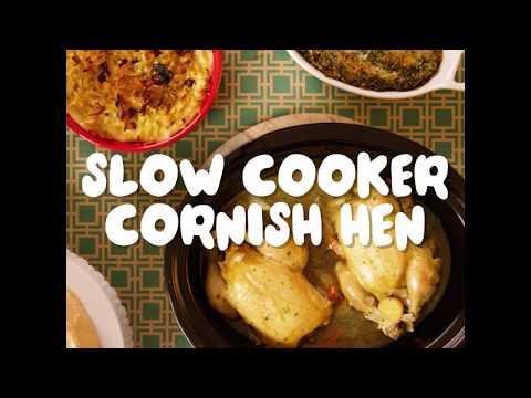 Slow Cooker Cornish Hen Recipe │Holiday Recipes│Kroger