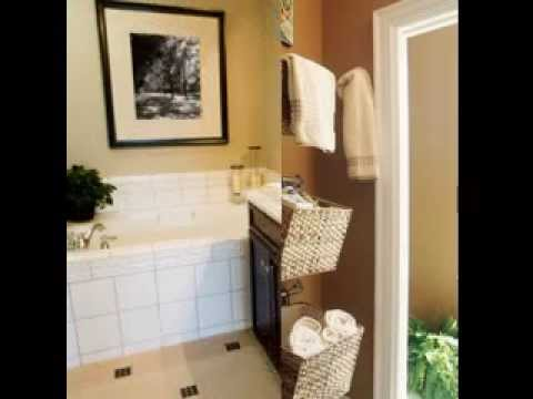 DIY Bathroom towel decorating ideas - YouTube - bathroom towel decorating ideas