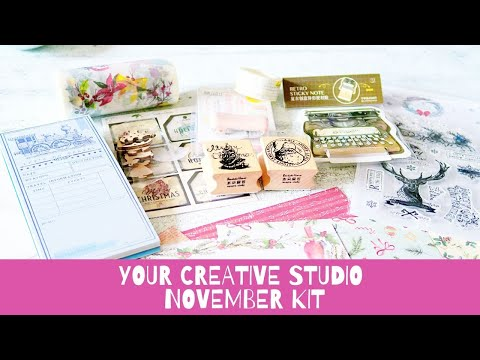 Your Creative Studio November Box!