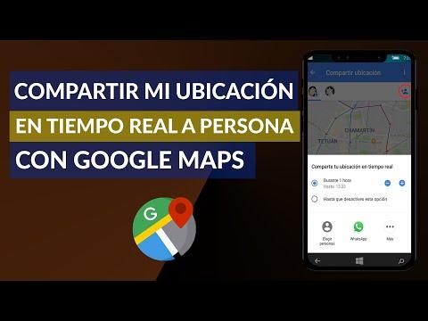 Cómo Compartir mi Ubicación en Tiempo Real con Otras Personas con Google Maps