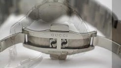 GUCCI Men's 101M Chrono Diamond Bezel Watch