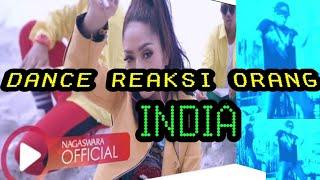 Lagi Syantik Siti Badriah Cover dance Reaksi Orang india