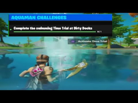 **Confirmed Week 4 Challenge**Complete The Swimming Time Trials At Dirty Docks - Aquaman Challenge!!