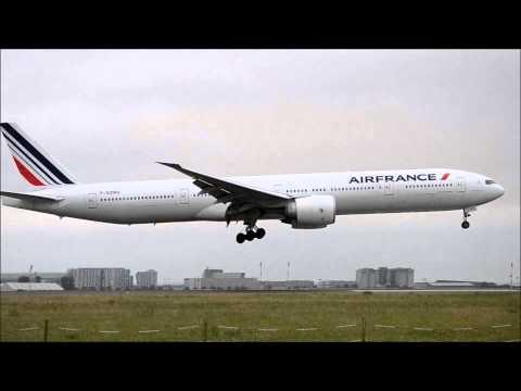 14 min of Heavy Arrivals at Paris Charles de Gaulle