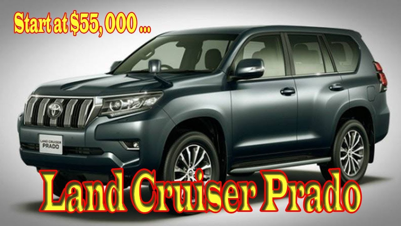 2019 toyota land cruiser prado off road