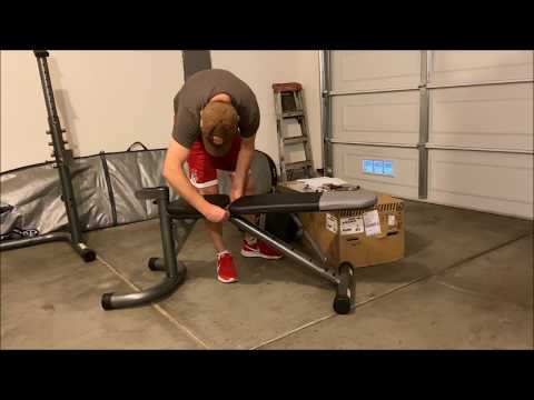 Weider XRS 20 Weight Bench Assembly