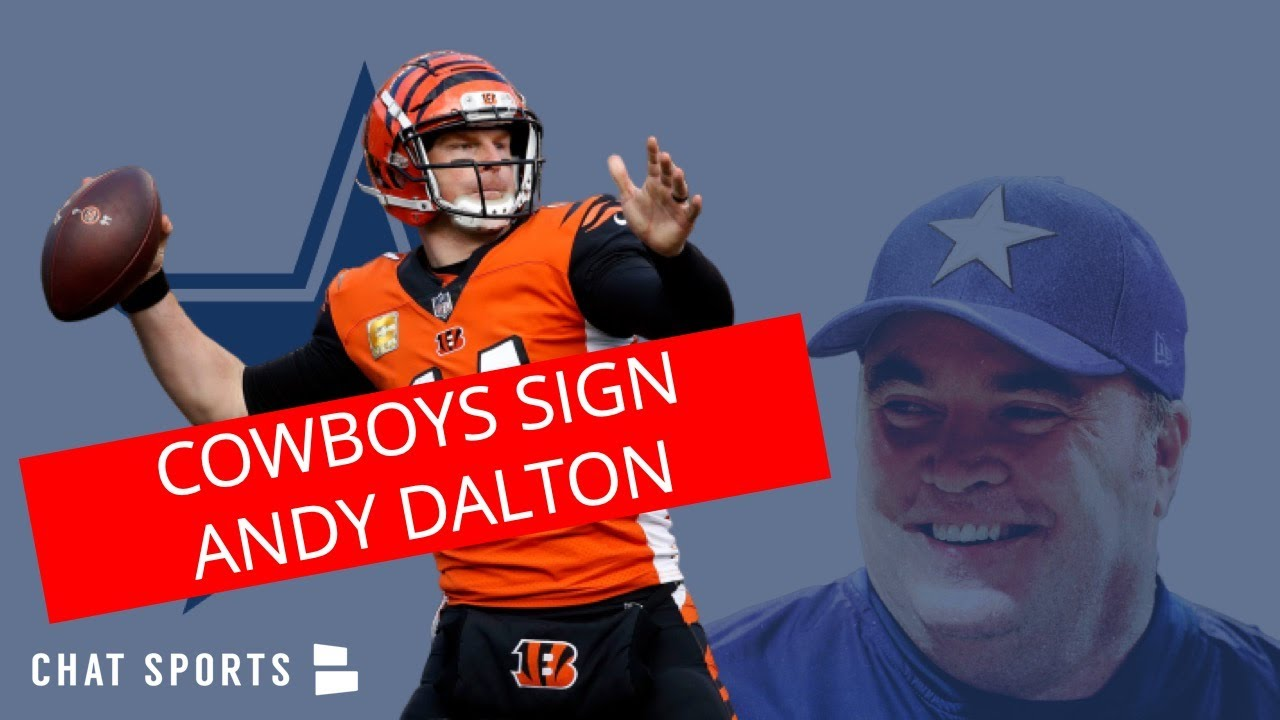 Cowboys signing Andy Dalton to one-year deal worth up to $7 million