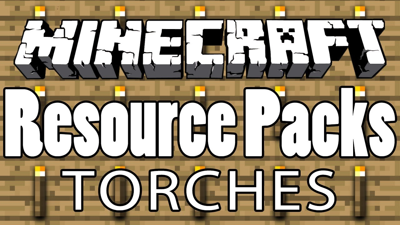 Minecraft - How to Make HD TORCH Textures [Texture/Resource Pack TUTORIAL  #11]