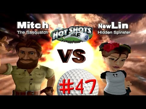 Hot Shots Golf 3 Episode 47- New Lin (Second Attempt)