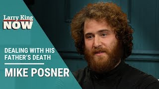 Mike Posner on Dealing With His Father's Death