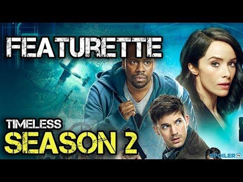 "Timeless Season 2 ""First Look"" Featurette"