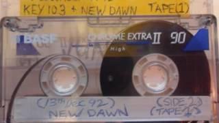 Stu Allan - 13th Dec - 1992 Key 103  Tape 1 Side A