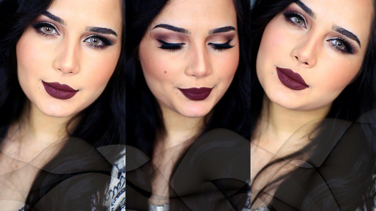 كوني اجمل امراة عربية مكياج شتوي فخم للمناسبات Full Glam Winter Makeup Colourpop Liquid Lipstick Winter Makeup Makeup