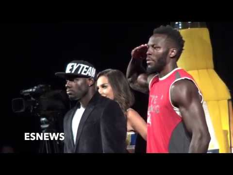Mayweather Mcgregor Undercard Face Off