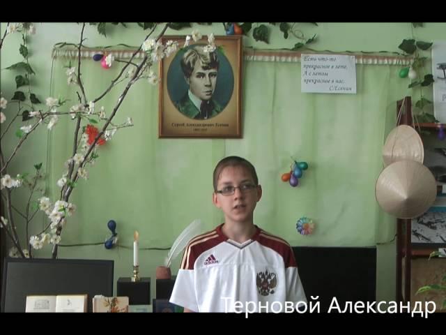 Изображение предпросмотра прочтения – АлександрТерновой читает произведение «Я усталым таким еще не был...» С.А.Есенина