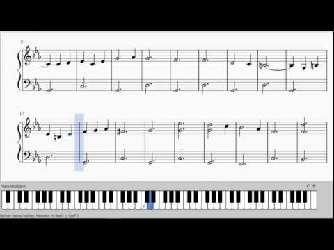 Shostakovich - The Second Waltz - Free PDF - Easiest Piano Version