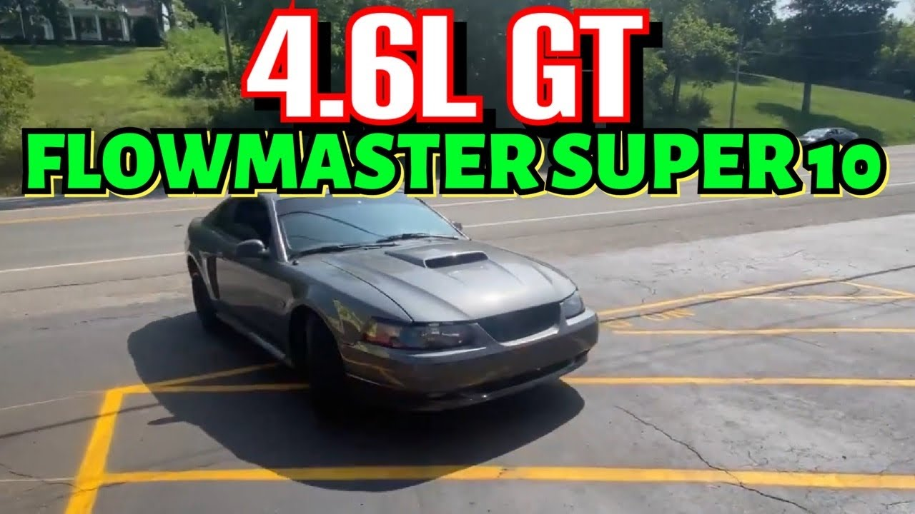 2008 Ford Mustang 4.6L GT DUAL EXHAUST w/ FLOWMASTER SUPER 10s!