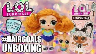 Unboxing LOL Surprise #HAIRGOALS | L.O.L. Opening SK8ER GRRRL Series 4 Wave 3 | Series 5 Makeover