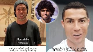 Diego Maradona 60 Years - Messages by Cristiano, Ronaldinho, Mourinho & More