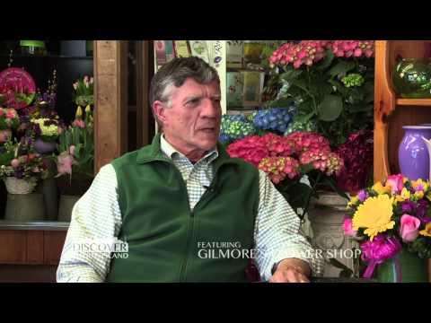 """Gilmore's Flower Shop, a """"Discover Rhode Island"""" business segment"""