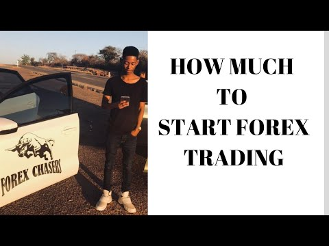 How Much To Start Trading Forex in South Africa || With  Lesiba Mothupi