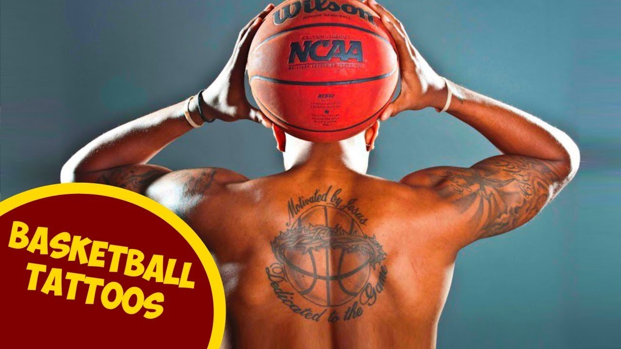 Amazing Basketball Tattoos For Those Who Love This Sport - YouTube