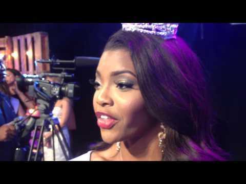 Jasmine Murray's reaction to being crowned Miss Mississippi 2014